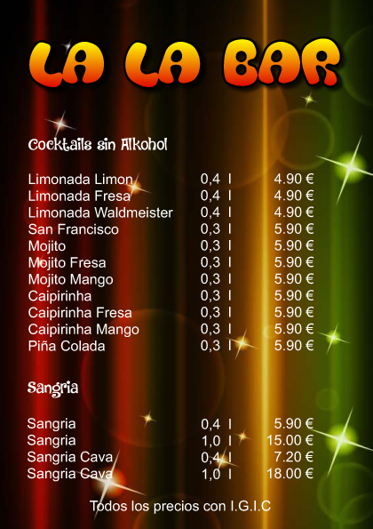 La La Bar Drink Menu-10